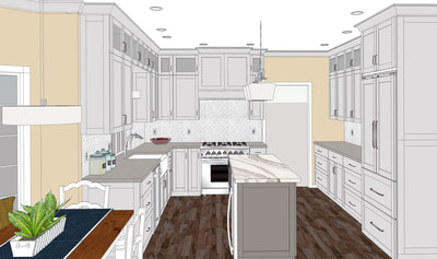 3D Rendering--Interior Dimensions LLC